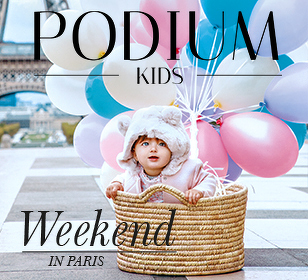 Звезды Babyphotostars & бренд John Richmond в смелой фешн-стори на страницах журнала Podium Kids Magazine